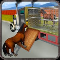 Wild Horse Zoo Transport Truck Simulator Game 2018