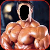 Body Builder Photo Frame