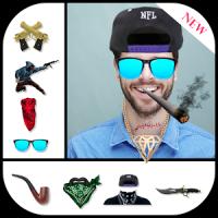 Gangster photo effect editor
