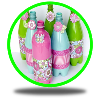 DIY Crafts Bottles idea new