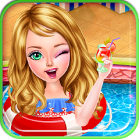 Princess Dressup Pool Party