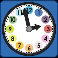 Uhr und Uhrzeit lernen