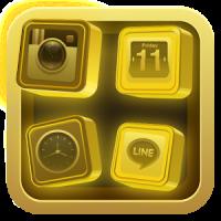 Black Gold 3D for Samsung