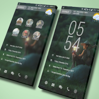 SimpleHome Theme for KLWP