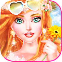 MakeUp Salon My Dream Vacation - Fashion Girl Game