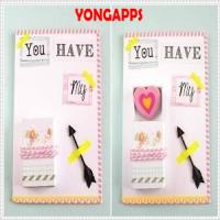 DIY Unique Valentine Card Idea