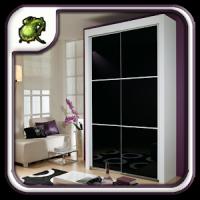 Black Wardrobe Closet Design