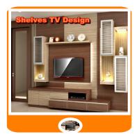 Shelves TV Design