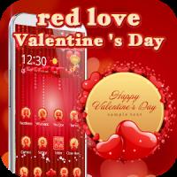 Red Valentine 3D love theme