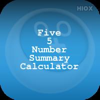 Five Number Summary Calculator