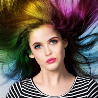 Realistic Hair Color Changer for Photos
