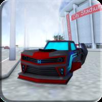 Sci Fi Car Driving School 3D
