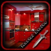 Red Kitchen Units Design