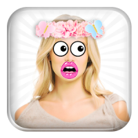 Funny Face Camera Stickers
