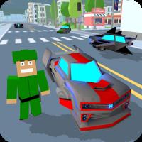 Blocky Hover Car