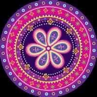 만다라는 : 성인을위한 색칠