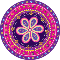 Mandala: Coloring for adults