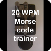20WPM Amateur ham radio Koch CW Morse code trainer
