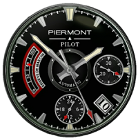 Piermont Pilot Watch Face