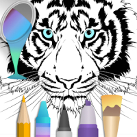 2020 for Animals Coloring Books