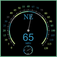 Regency Compass GPS & Speedometer Street View