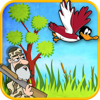 Dynasty Duck Shot Bye Bye Bird Flappy Arcade Game