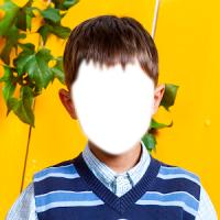 아이 사진 몽타주