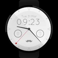 Mustache Watch Face