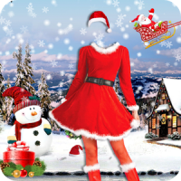 Christmas Dresses for Women Photo Editor