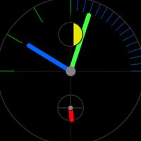 OnTime 시계 라이브 배경 화면