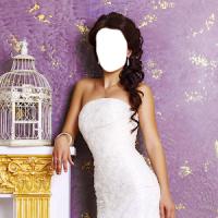 웨딩 드레스 사진 몽타주