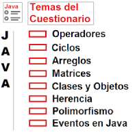 Cuestionario Programacion Java