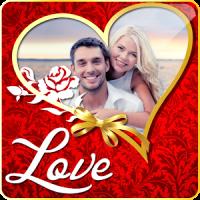 Romantic Love Photo Frame Maker Share Couples Pics