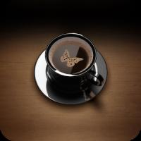 Morgen Kaffee Thema