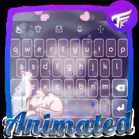 Kitten love Keyboard Animated