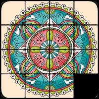 퍼즐 만다라를 슬라이딩