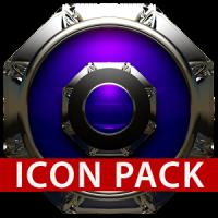 St. Moritz Icon Pack HD blue black
