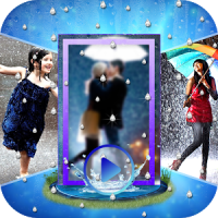 Rainy Photo Video Maker with Music