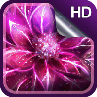 Luminous Flower Live Wallpaper