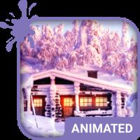 Winter Animated Keyboard + Live Wallpaper