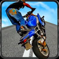 moto loucura dublê de corrida