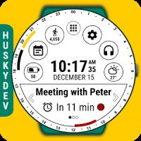 Calendar Watch Face (by HuskyDEV)