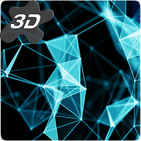 Gyro Space Particles 3D Live Wallpaper