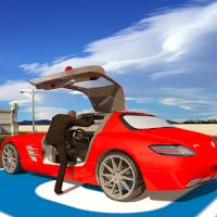 Inteligente Coche Conducción Escuela 3D Aeropuerto