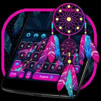 Dreamcatcher Keyboard Magical Theme