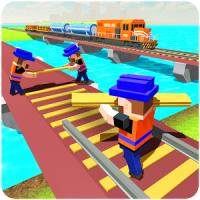 River Train Track Builder & Craft