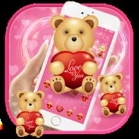 Cute Teddy Bear Love Theme