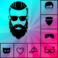 HairArt Beard Style Man Mustache Photo Editor