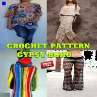 Crochet Pattern Gypsy Boho