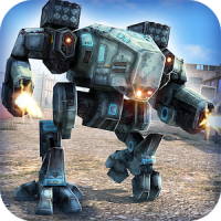 Robots Tanks of War